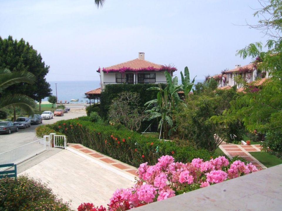 Blick vom Balkon Club Hotel Titan
