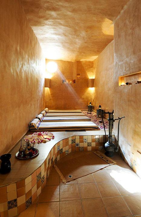 Hall de la réception Odyssee Resort Zarzis