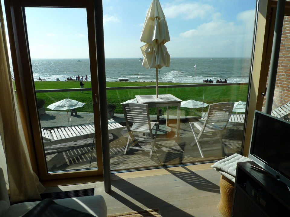 ausblick aus suite hotel seesteg norderney norderney holidaycheck niedersachsen. Black Bedroom Furniture Sets. Home Design Ideas