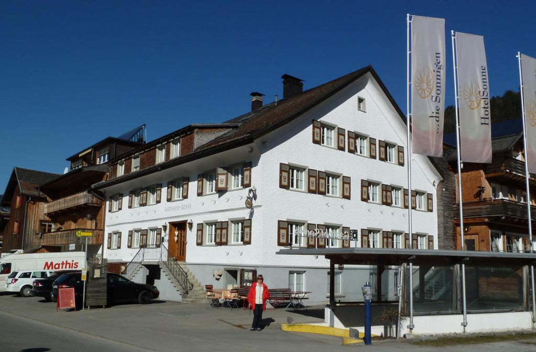 Ein sonniger Märztag im Hotel Sonne die Sonnigen Hotel und Restaurant