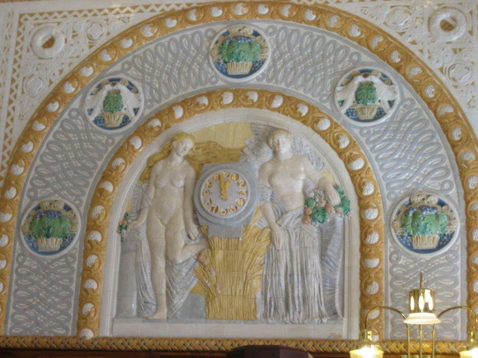 Wandfliesen Art Deco Imperial Hotel