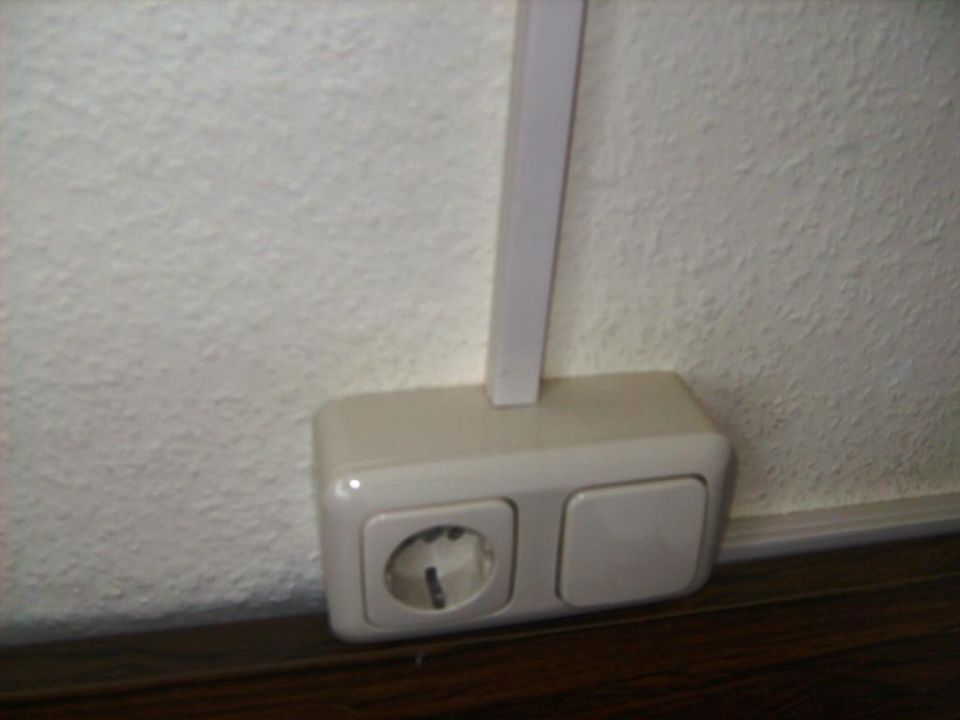 Zimmer 404, Lichtschalter\