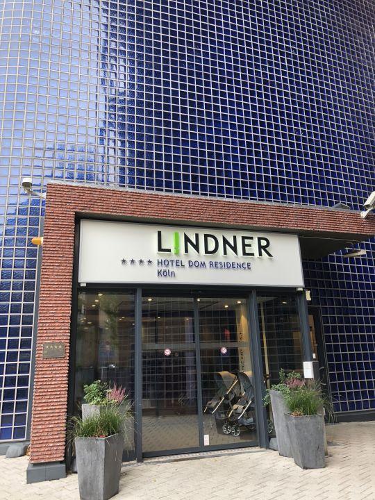 Außenansicht Lindner Hotel Dom Residence