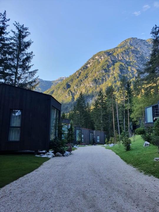 Außenansicht Camping Toblacher See