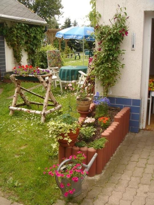 Außenanlage vom Landgasthof Kemter Landgasthof Kemter