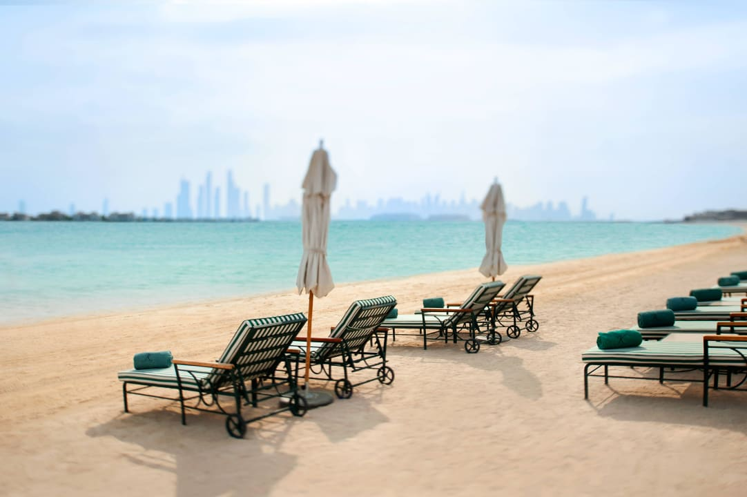 Hotel beach Kempinski Hotel & Residences Palm Jumeirah