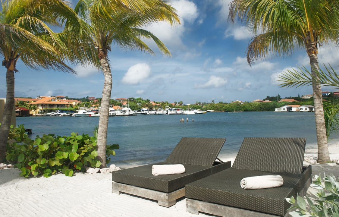 Lounge on the beach La Maya Beach Curacao Resort
