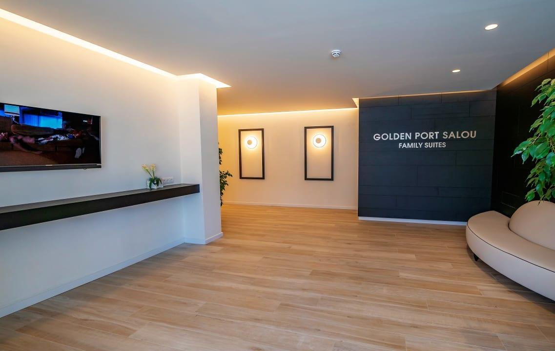 Lobby Golden Port Salou & Spa