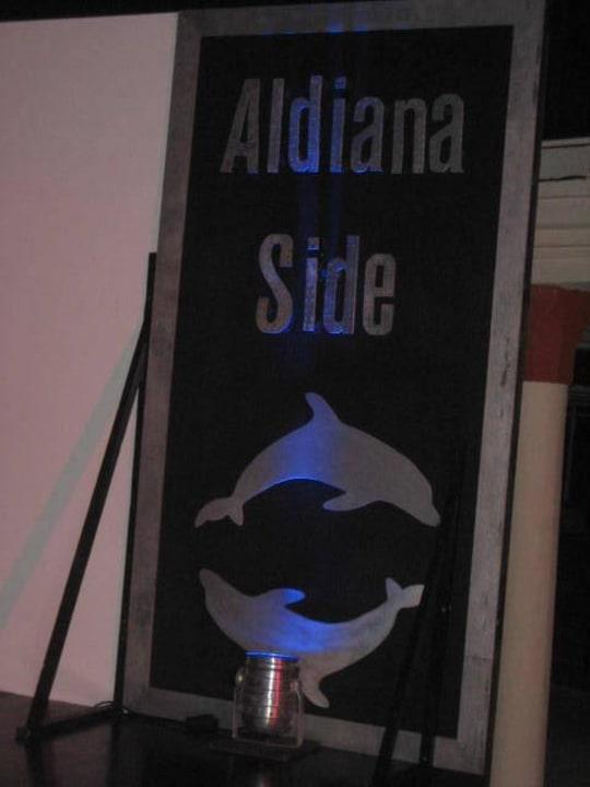 Aufsteller Aldiana Side  (Vorgänger-Hotel – existiert nicht mehr)