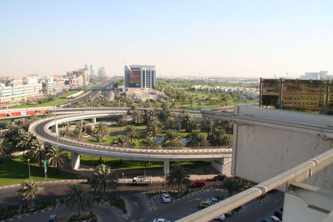 Blick vom Hotel Pullman Dubai Creek City Centre