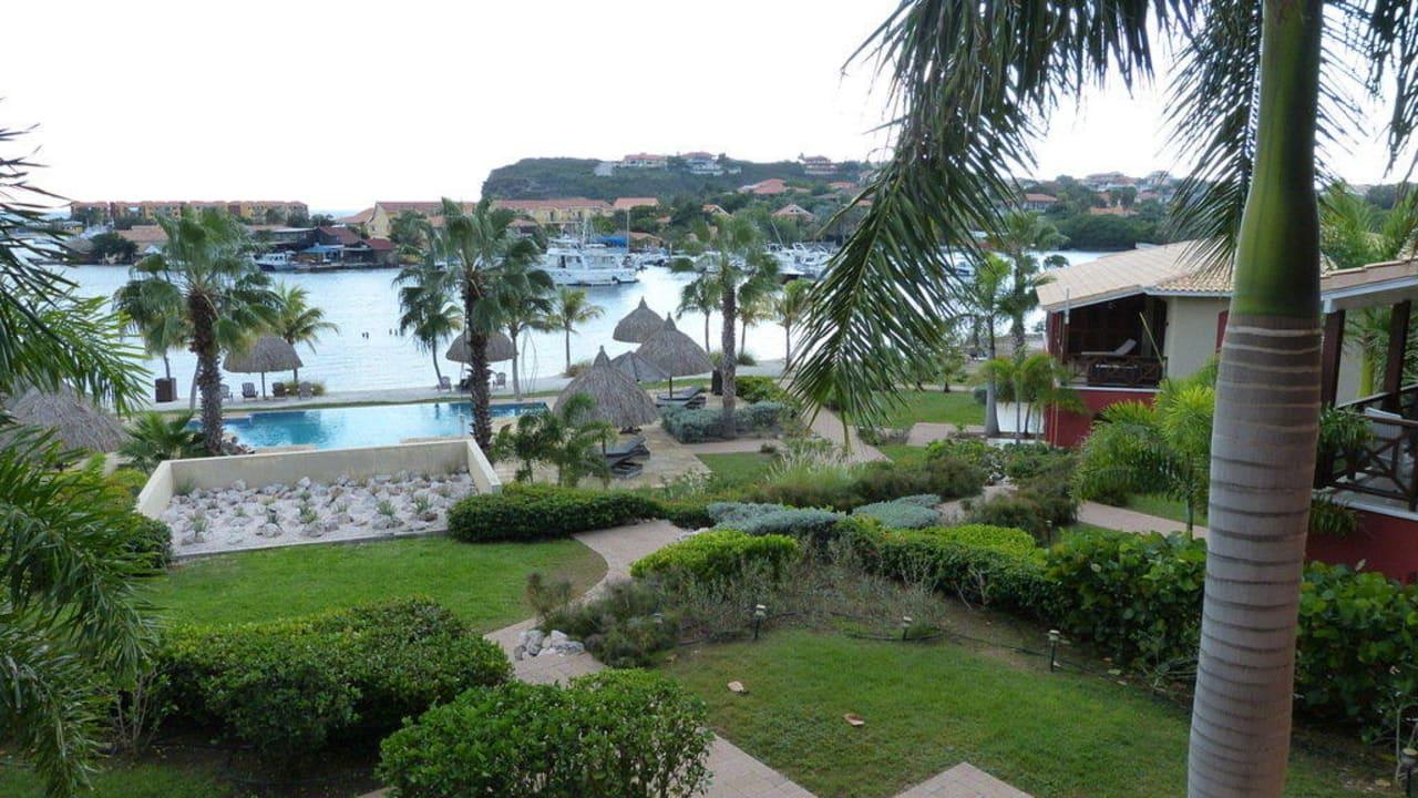 Blick vom Balkon La Maya Beach Curacao Resort