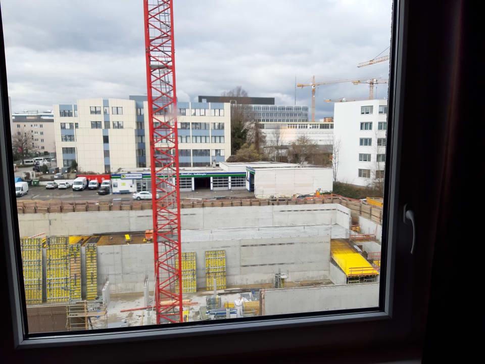 Ausblick B&B Hotel Stuttgart-Vaihingen