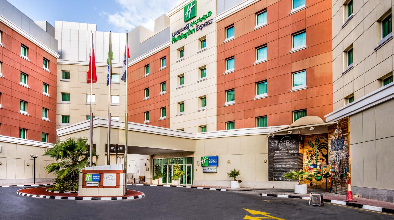 Außenansicht Hotel Holiday Inn Express Dubai Internet City