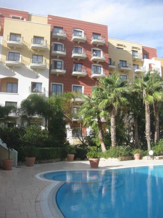 Haupthaus vom Innenhof aus gesehen Maritim Antonine Hotel & Spa Malta