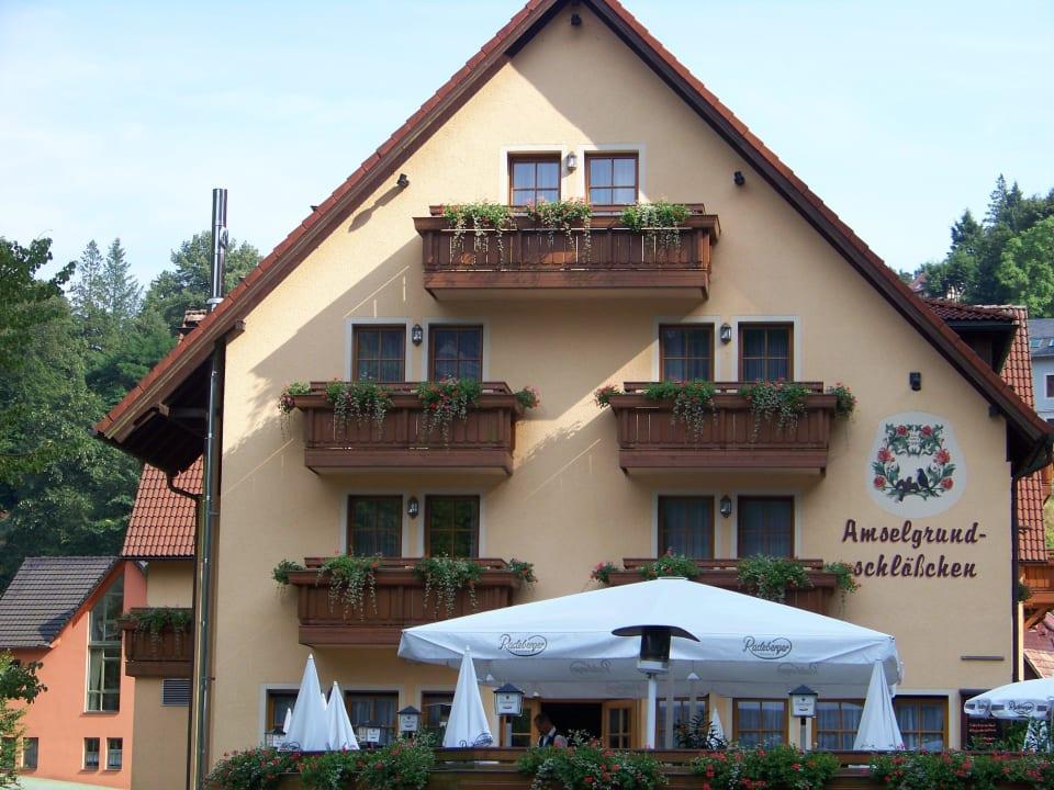 Biergarten Hotel Amselgrundschlößchen