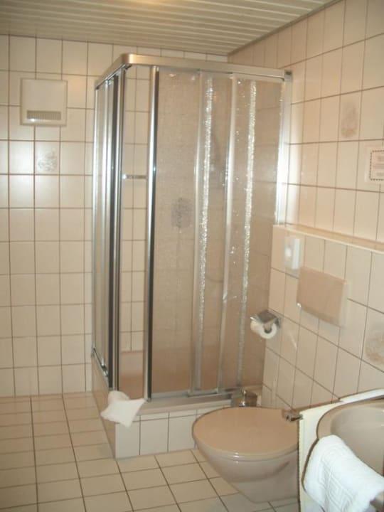 Dusche/WC Hotel Döttelbacher Mühle