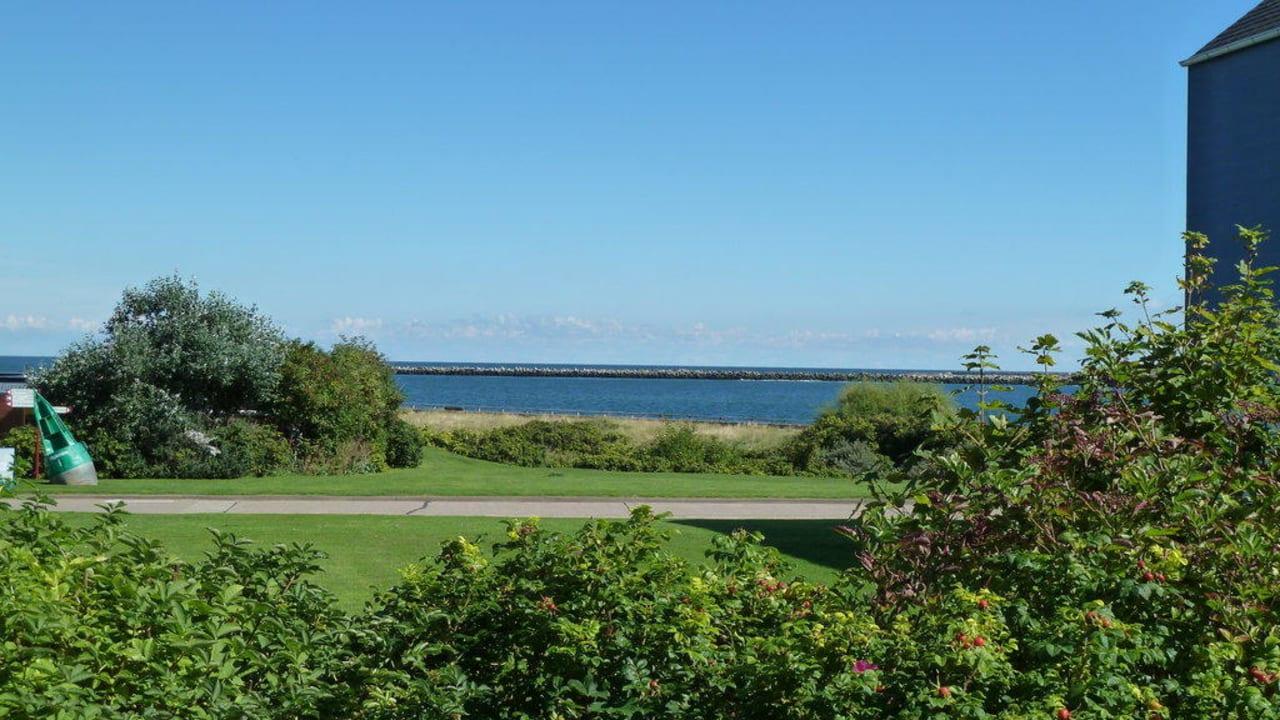 Blick von der Eingangstür Hotel Aqua Marina