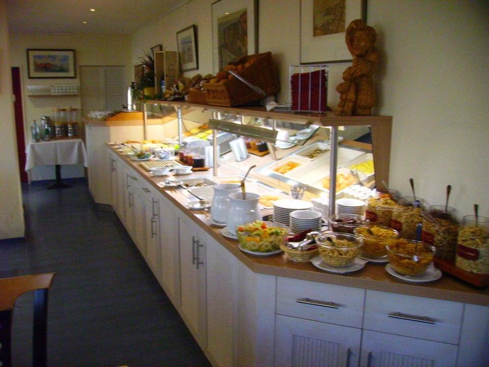 Frühstücksbuffet Hotel Rickmers Insulaner