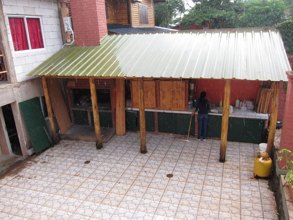 Frühstücksbüffet Hostel Sweet Alejandro
