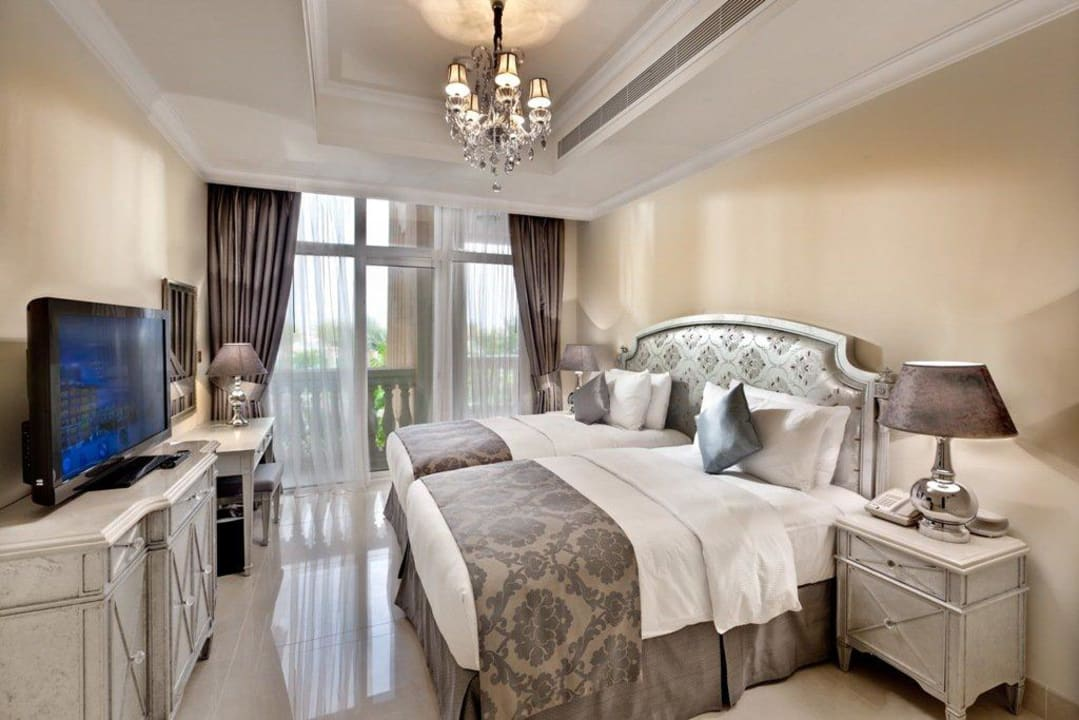 Twin Bedroom in one of the Suites Kempinski Hotel & Residences Palm Jumeirah