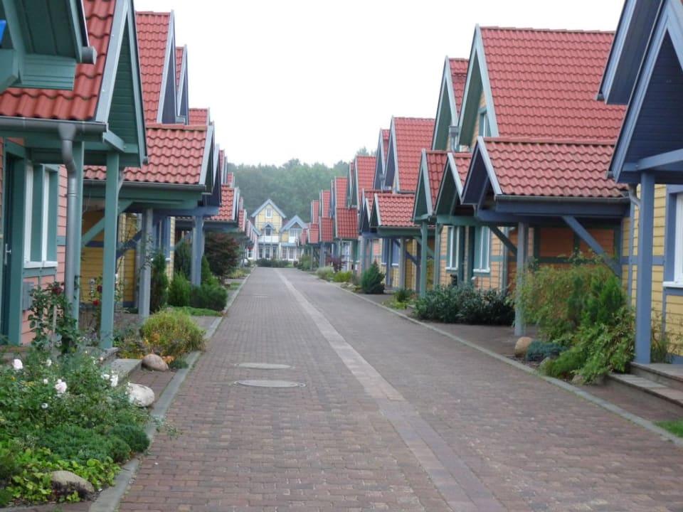 Häuser Marinaresort Ferienhäuser Hafendorf Rheinsberg