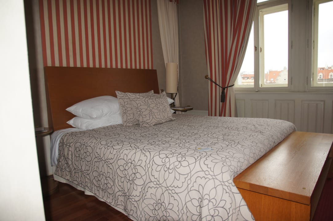 Zimmer, Blick aufs Bett Mamaison Hotel Riverside Prague