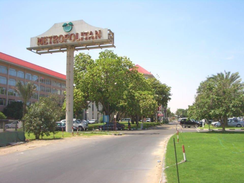 Zufahrt Hotel Metropolitan Dubai  (Vorgänger-Hotel – existiert nicht mehr)