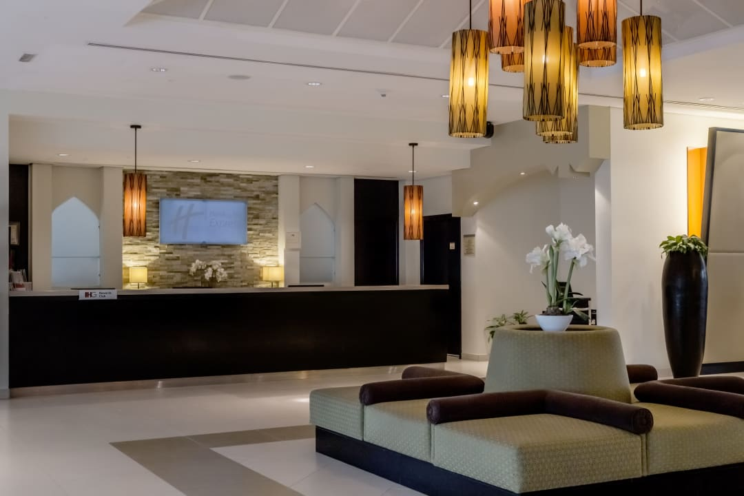 Lobby Hotel Holiday Inn Express Dubai Internet City