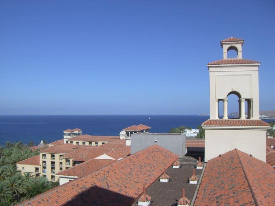 Blick von Turm zu Turm Lopesan Costa Meloneras Resort, Spa & Casino