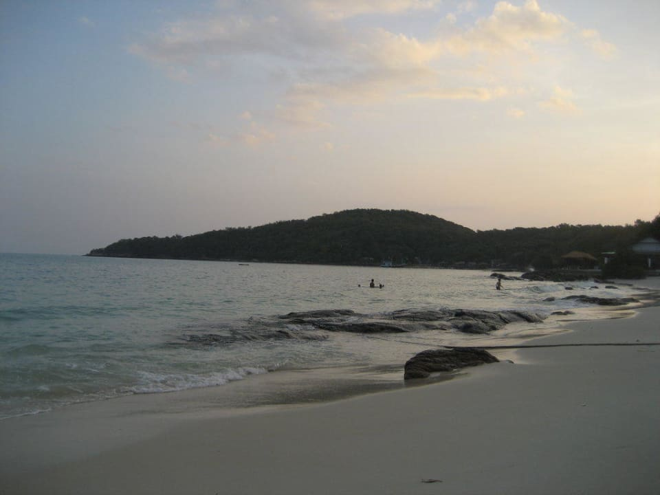 Abendanblick Sangthian Beach Resort