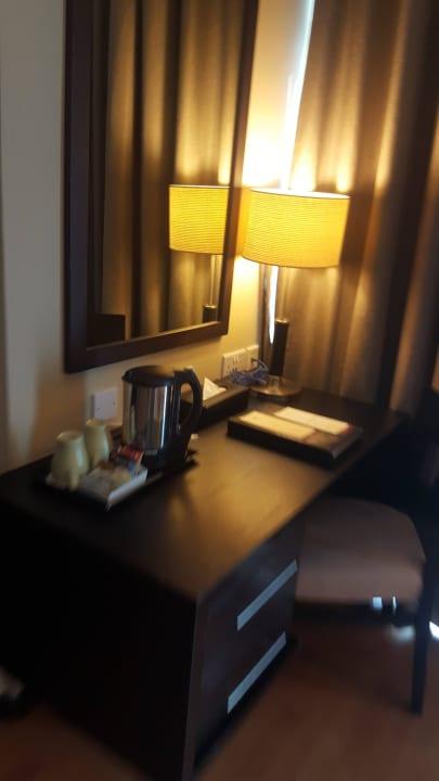 Arbeitsecke Grandeur Hotel