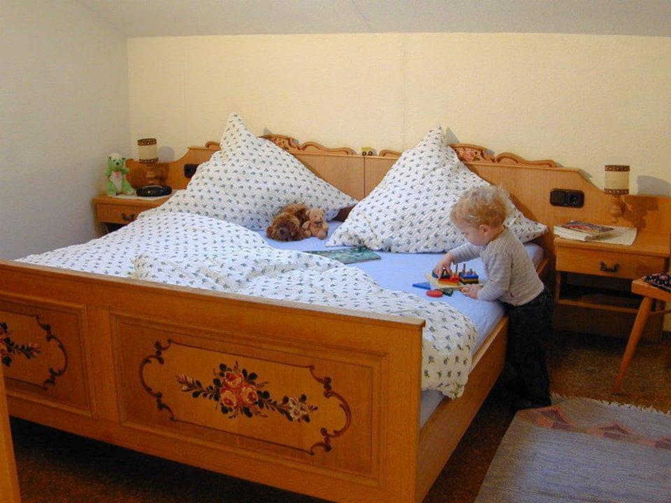 Kinderzimmer in der Ferienwohnung Watzmann Kochhof