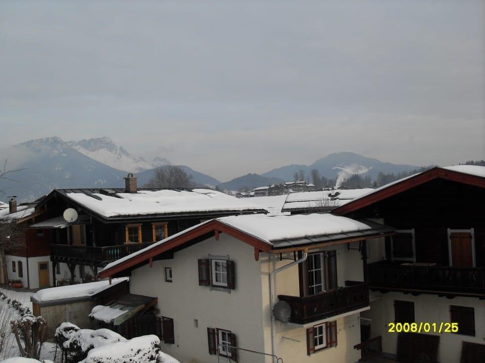 Aussicht von unserem Balkon Gästehaus Frauendorf