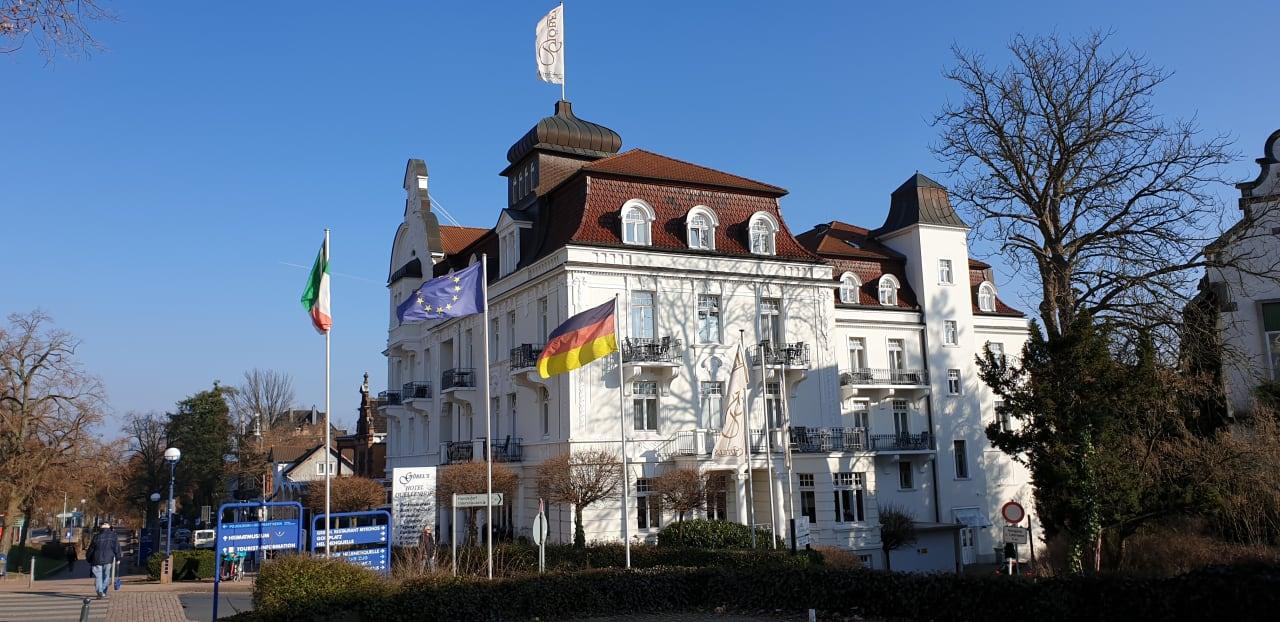 Außenansicht Göbel's Hotel Quellenhof