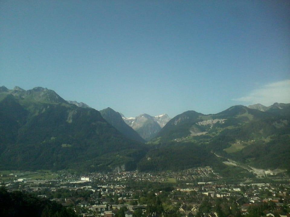 Bludenz vom nahen Muttersberg Val Blu Sport | Hotel | SPA