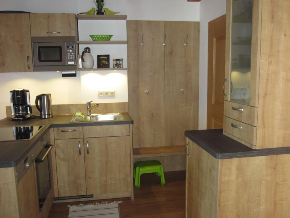 Küche in der Ferienwohnung Staufen Kochhof