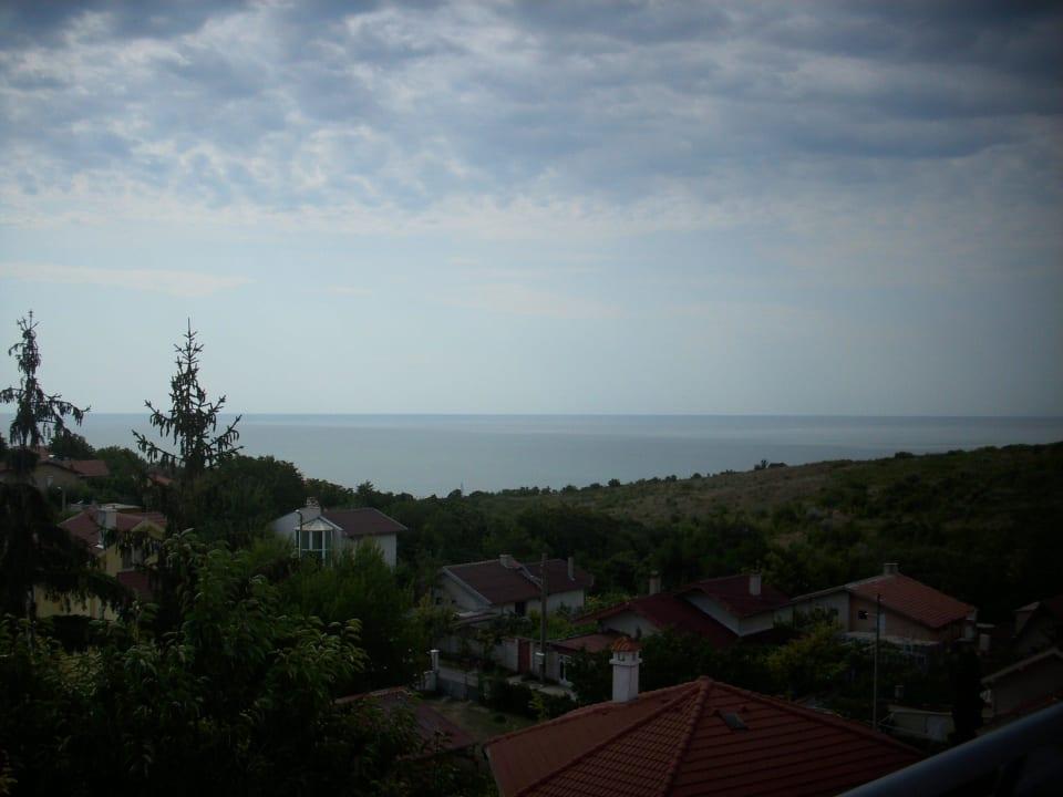 Blick Richtung Meer Hotel Diana