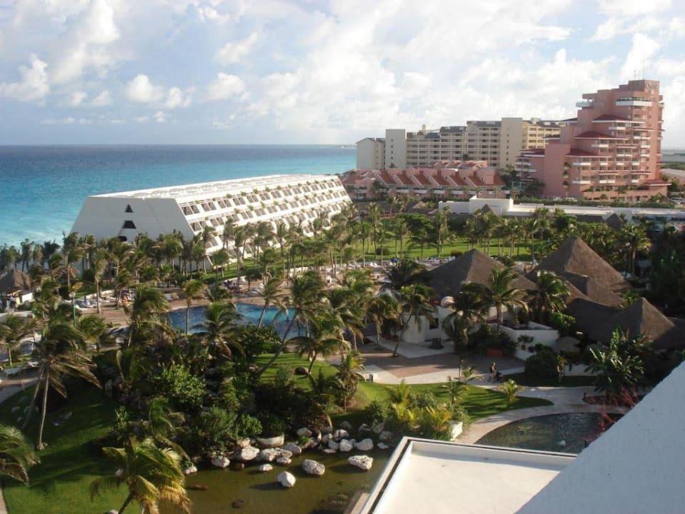 Vom Hoteldach Grand Oasis Cancun