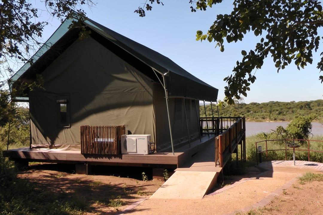 Zelt 26 Restcamp Lower Sabie