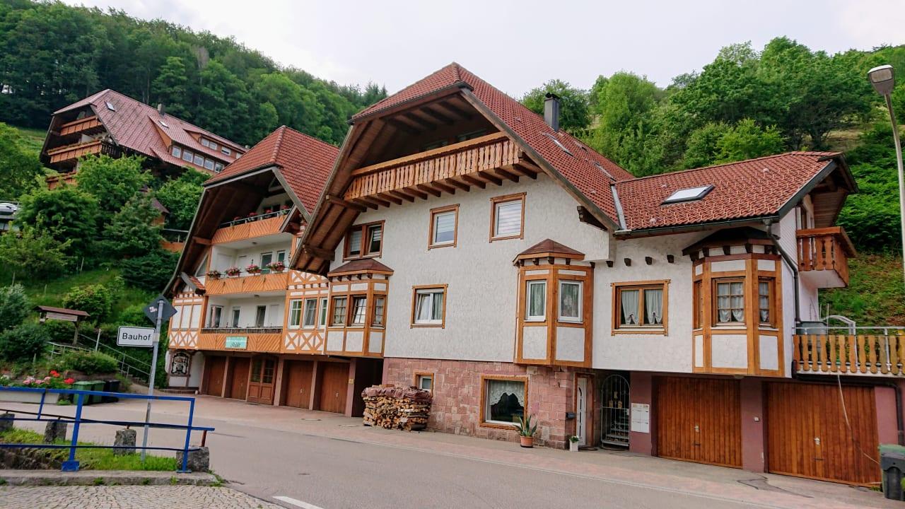 Außenansicht Hotel Döttelbacher Mühle
