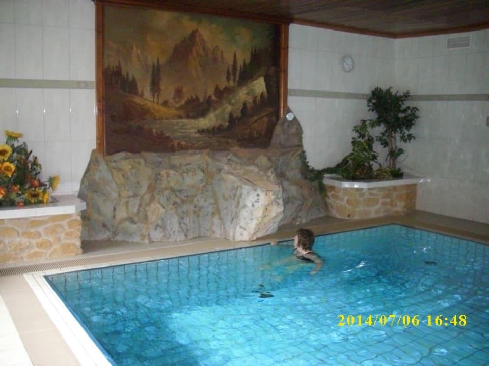 Bildausschnitt Pool Hotel Twengerhof