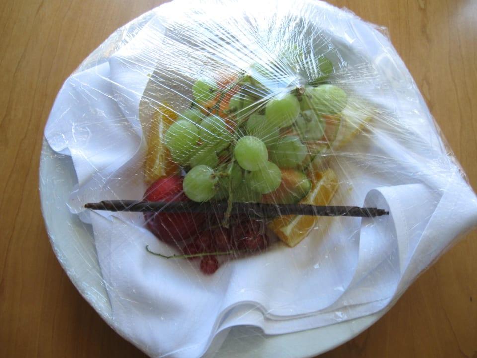 Früchte zur Begrüssung Radisson Blu Royal Garden Hotel