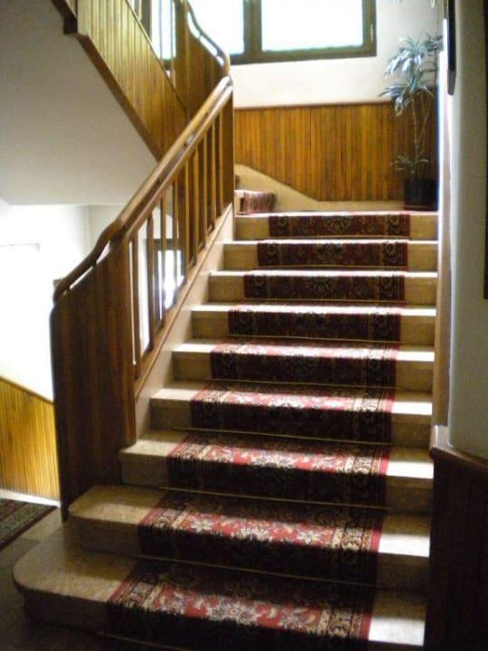 Stairs Hotel Cima Belpra