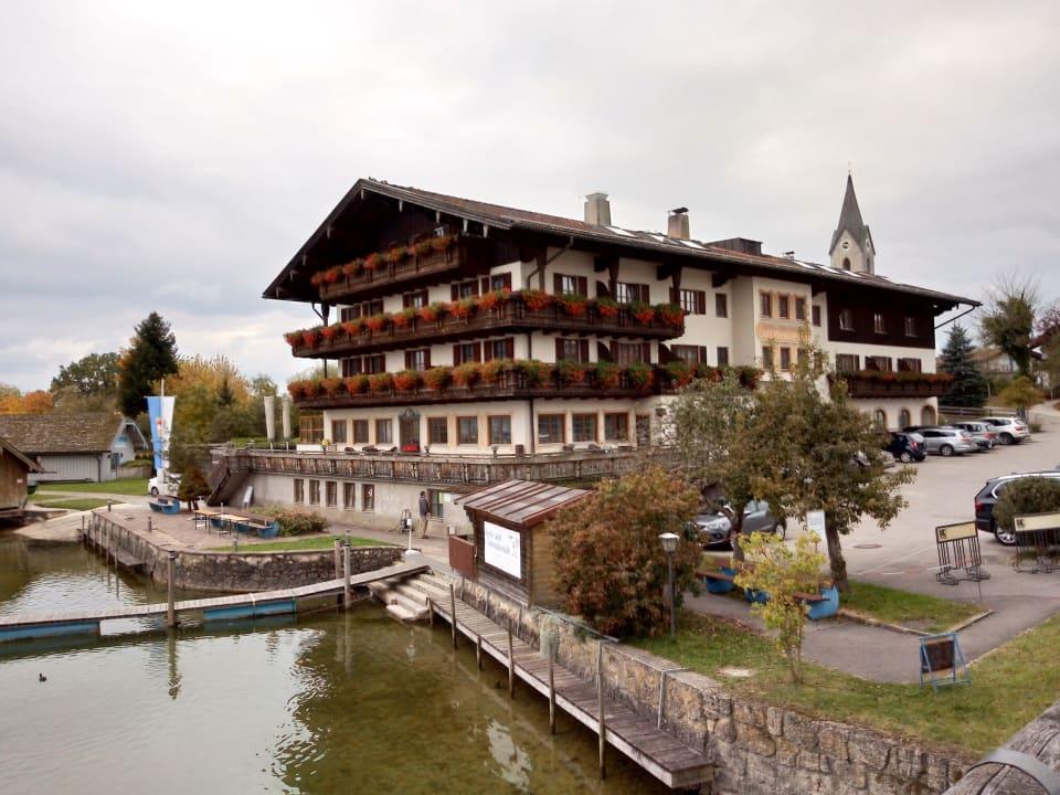 Außenansicht Seehotel Wassermann