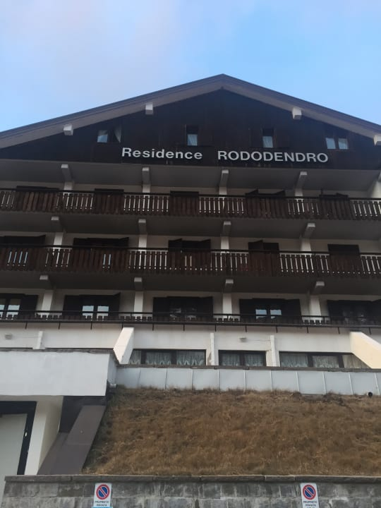 Außenansicht Residence Rododendro