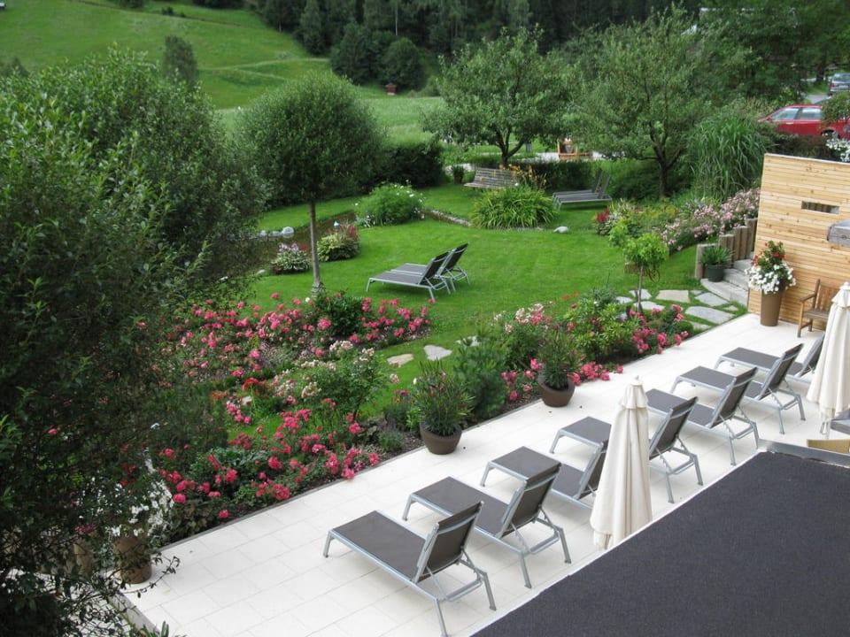Terrasse Hotel Weisses Lamm
