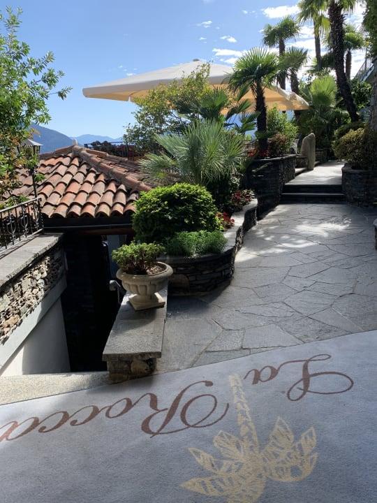 Gartenanlage Boutique-Hotel La Rocca