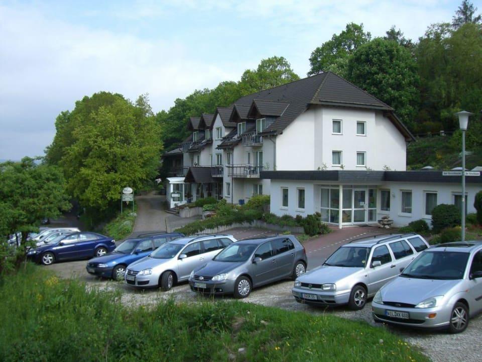 Blick auf das Hotel! Hotel & Restaurant 2tHEIMAT