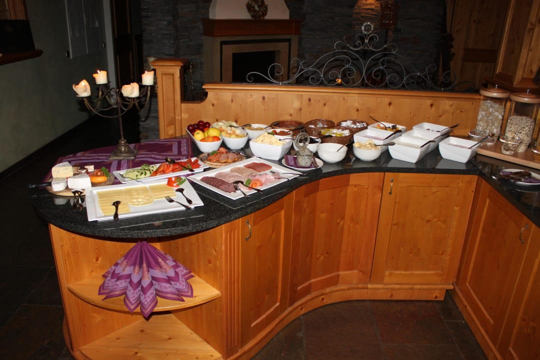 Teil des Frühstücksbüffet Hotel Amselgrundschlößchen