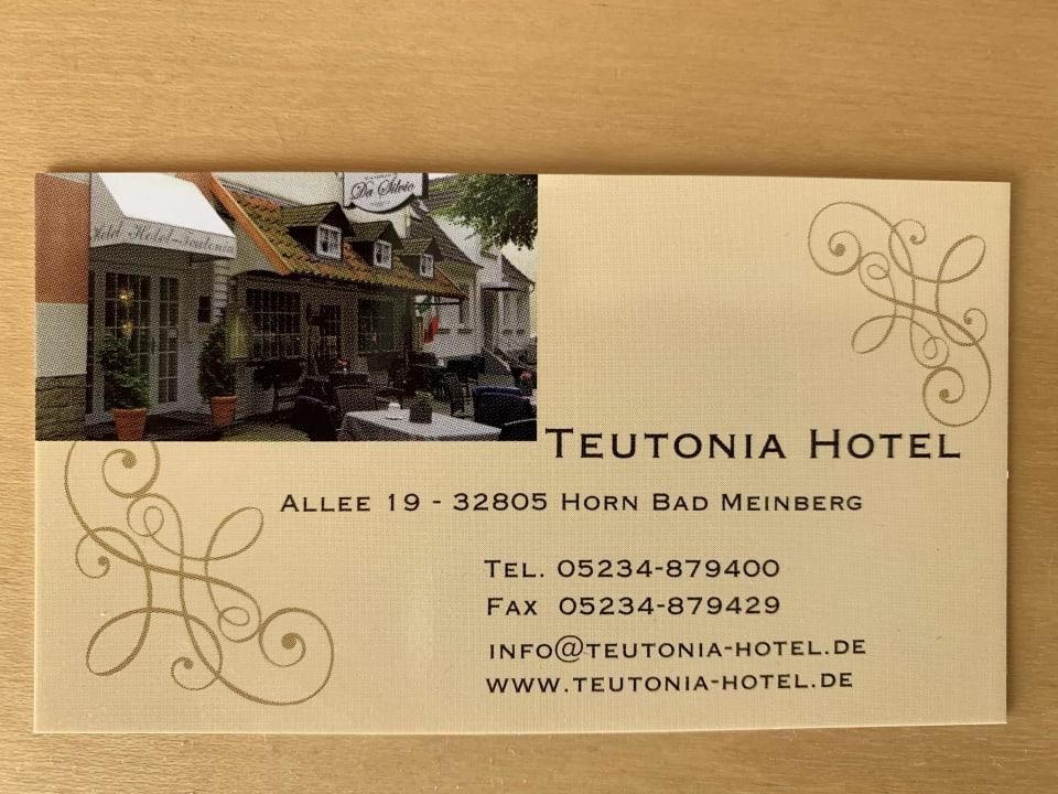 Sonstiges Hotel Teutonia
